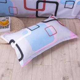 1 pieza 48cm * 74cm funda de almohada con estampado Floral de belleza 100% funda de almohada de poliéster para uso de dormitorio
