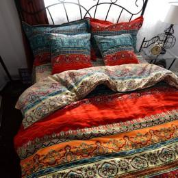 Bohemio 3d edredón juegos de cama Mandala edredón conjunto ropa de cama de invierno funda de almohada reina king size colcha de