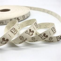 5 yardas/lote 15mm cinta de algodón diseño hecho a mano cintas de algodón impresas para boda Navidad decoración tela para costur