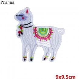 Prajna dibujos animados unicornio planeta cosas hierro en parches para ropa bordado rayas en ropa linda DIY apliques de lentejue