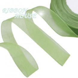 (50 yardas/rollo) cinta de Organza al por mayor regalo envoltura de decoración cintas de seda Navidad tela de encaje 12/15/20/25