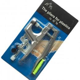 Alicate en forma de U Alicates a presión Botón KAM + 150 set T5 Botón a presión de resina plástica tela de botón Herramienta de