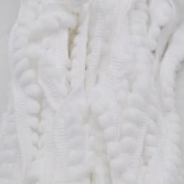 5 yardas Pom recortado bola 11 mm MINI perla pompón flecos cinta costura encaje tejido hecho a mano artesanía Accesorios