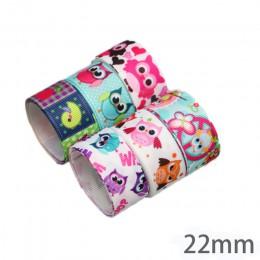 (Mezcla de 6 cintas) cinta de grogrén estampada con encaje floral encantador cintas de satén (9/22/25mm)