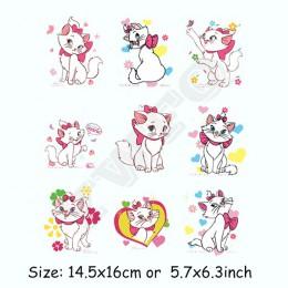 DIY parches de transferencia de calor lindos animales conjunto de parches de hierro para ropa niños camiseta decoración prensa d