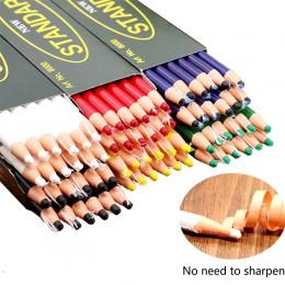 Rotulador herramientas de costura tiza para costura sin cortar para Sastre accesorios de costura lápiz tela 1 pieza lápices tiza