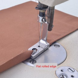 """XUNZHE 1 Uds máquina de coser eléctrica INDUSTRIAL prensadora pies 1/4 """"1/8"""" 1/16 """"5/64"""" 5/16 """"7/32"""" Rodado Hem pie coser Acceso"""