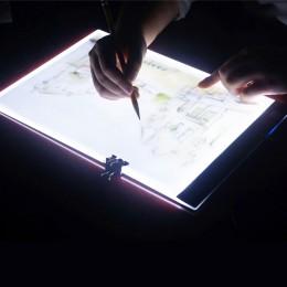 Almohadilla de luz Led regulable de tres niveles, tableta, herramientas, accesorios de pintura de diamantes, protección de Ojos