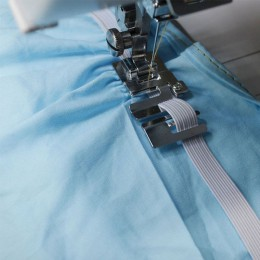 Prensatelas para máquina de coser doméstica 29306-2 de alta calidad de cinta elástica de tela prensatelas