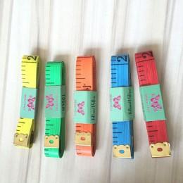 Suministros para el hogar de plástico 1 pieza cinta métrica de Color aleatorio de doble calidad portátil de alta calidad 1,3*150