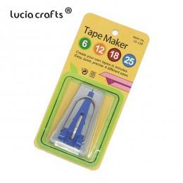 Artesanías de lujo 6mm 12mm 18mm 25mm tela máquina para hacer cinta al bies máquina doméstica costura herramientas de acolchado