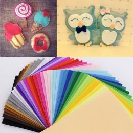 Tela no tejida de polyester de 43 colores 10*15cm para costura hecha a mano manualidades de costura hecha a mano tela de fieltro