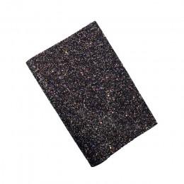 IBOWS 22*30CM brillo cuero sintético tela hojas grueso brillo tela para fiesta boda decoración DIY lazos para el cabello materia