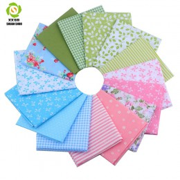 Tela de mechones Shuanshuo Fat cuartos 15 Textiles de diseño mixto para el camino de la muñeca de tela para coser manualidades D