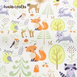 25*25/50*50cm dibujos animados de algodón Patchwork tejidos acolchados DIY costura hecha a mano telas para Niños Accesorios de c