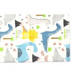 Tela de algodón 100% estampada con dibujos animados para acolchado, tela de Patchwork para niños, tela de Material de costura DI