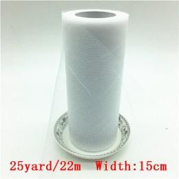15cm 25 yardas rollo de tul para boda decoración rollo carrete para tela artesanía tul tela tutú vestido DIY Organza Baby Shower