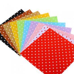 ShuanshuoDIY tela de poliéster fieltro patrón para manualidades muñecas para coser artesanías decoración del hogar tela no tejid
