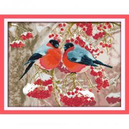Juego de punto de cruz chino amor eterno Navidad bullpinch algodón ecológico estampado 11CT y 14CT nueva promoción de ventas de