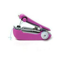 1 Pza portátil Mini máquina de coser Manual herramientas de coser de funcionamiento Simple tela de coser herramienta de costura