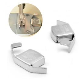 Máquina de coser accesorios para pies máquina de coser plana coche indicador con imán Diy máquina de coser prensadora herramient