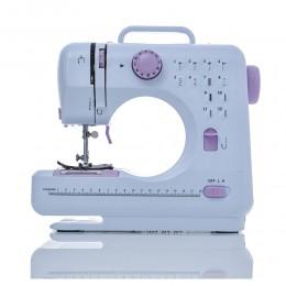 Fanghua Mini 12 puntadas máquina de coser multifunción hogar doble hilo y velocidad libre-brazo artesanal máquina de zurcido LED