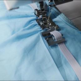 1 Pza gran oferta máquina de coser doméstica prensatelas de pie enrollado Hem pies Set para Brother Singer accesorios de costura