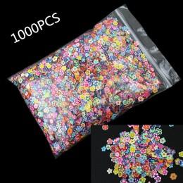 1000 Uds. Manualidades de flores de arcilla polimérica Scrapbooking plano para adornos pegatinas de uñas decoración de arte acce