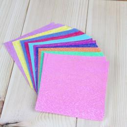 50 unids/set papel cuadrado Origami de un solo lado brillante plegable Color sólido papeles niños hecho a mano DIY Scrapbooking