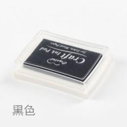 1pc de 15 colores de tinta grande de Planificador de sellos scrapbooking de silicona sello diy diario tarjeta de felicitación su