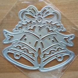 Mejor venta troqueles de corte de Metal Navidad cascabeles DIY plantilla decorativo álbum de recortes artesanía 1 pieza