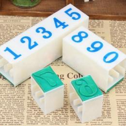 DIY diario de trabajo de papel Ablum carta de boda sello del alfabeto número Digital sello de combinación de la tinta del capitu