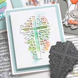Religión Cruz forma Metal troqueles plantilla para álbum de recortes álbum grabado para hacer tarjetas de regalo manualidades 20