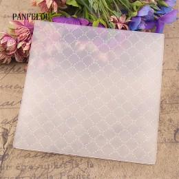 Panfelú Pascua la caja de puntos en relieve carpetas de plástico para Scrapbooking DIY plantilla Fondant Cake tarjeta para álbum