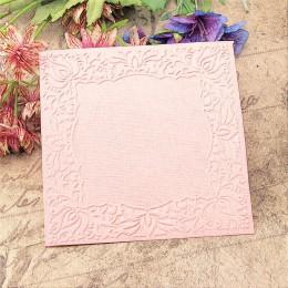 Panfelú Pascua el borde del patrón en relieve carpetas de plástico para Scrapbooking DIY plantilla Fondant Cake tarjeta para álb