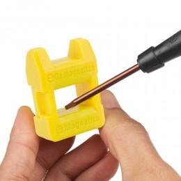 Mini 2 en 1 magnetizador herramienta de desmagnetizador puntas destornillador tornillo herramientas magnéticas