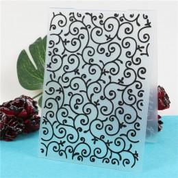 Plantilla de plantilla de carpeta en relieve de plástico para Scrapbooking papel tarjeta de felicitación foto álbum Decoración