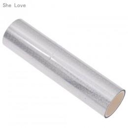 She Love 5M lámina de estampado en caliente Multicolor 1 rollo de papel holográfico de transferencia de calor DIY manualidades