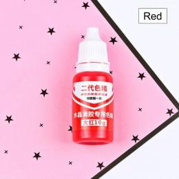 UV resina líquida perla tinte resina de pigmento epoxi DIY artesanías para hacer joyería herramientas 10g E2S