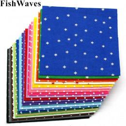 24 Uds 1mm fieltro mezcla de colores estampado punto no tejida de Fieltro de Poliéster fieltros de tela hecha a mano de tela agu