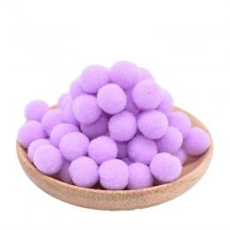 100 unids/lote 15mm Multi-uso DIY suave pompones pelotas juguetes infantiles boda decoración redonda bolas de fieltro pompones a
