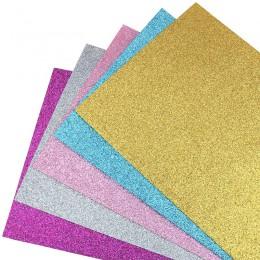 Nanchuang 1,4mm espesor Glitter colorido tejido de fieltro no tejido para decoración del hogar patrón de costura muñeca y Materi