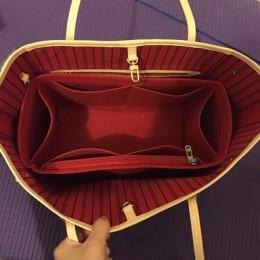 NeverFull PM MM GM tela de fieltro insertar bolso Speedy organizador de maquillaje bolso organizador de viaje bolso interior Beb
