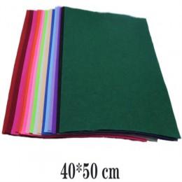 1 Pza 40*50 Cm alta calidad tejido de lana de fieltro hecho a mano manualidades fieltro hojas juguetes de flores bolsas de almac
