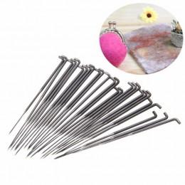 Los mejores 10 Uds. 3 tamaños agujas de fieltro de lana agujas de bolsillo juego DIY artesanía fieltro herramientas conjunto par