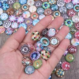 200 Uds. 12/14/16MM cristal mosaico intercambiable Multi Color cabujones para pulseras fabricación DIY artesanía mosaico