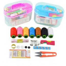 10 estilos de caja de almacenamiento de Kit de costura para almacenamiento de costura y decoración del hogar, agujas de coser br