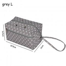 Organizador de punto de ganchillo de 2 tamaños organizador de almacenamiento de hilo con divisor portátil de costura hecha a man