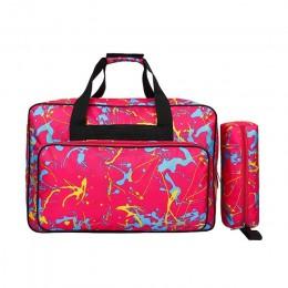 Unisex de gran capacidad de la máquina de coser bolsa de almacenamiento portátil de viaje bolsas de la máquina de coser multifun