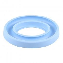 Soporte de bobina de goma soporte de bobina máquina de coser organizador de ahorro de bobina para coser bordado 16,5x13,5x2 cm L